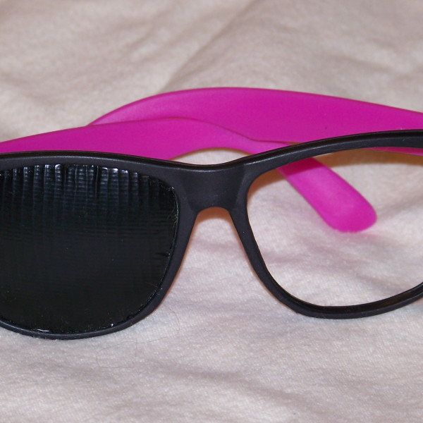 Right Eye Obstruction Glasses
